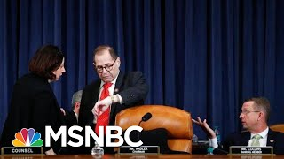 Jerry Nadler Shocks GOP With Surprise End To Trump Impeachment Debate | The 11th Hour | MSNBC