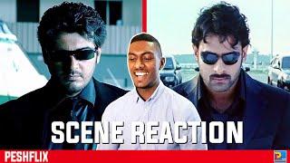 Billa Intro Scene Reaction   Ajith Kumar vs Prabhas   PESHFlix Entertainment