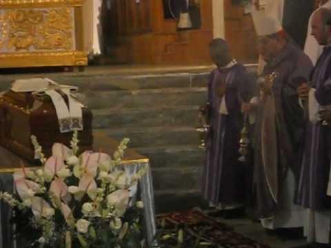 Diocesi di Capua: Cav. De Lisa,Card. Sepe in suffragio di Mons. Bruno Schettino (23-09-2012).