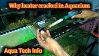 Why Aquarium Heater cracked in Aquarium?