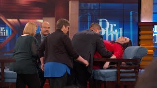 Woman Experiences PTSD Episode While Speaking With Dr. Phil