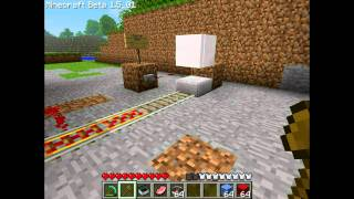 [TUTO Avancé] Comment construire un Tram/train #1 [Minecraft] By DarkeisII