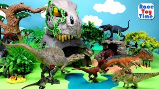 Fun Dinosaurs Toys For Kids - Let's Learn Dino Names!