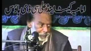 Zakir Sabir Hussain Shah Bahal Sham e Gareeban 15 Safar 1433 Hijri At Gojra Fisalabad