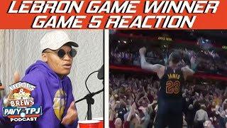 Reaction To Cavs vs Pacers Game 5 | Hoops N Brews