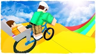 ROBLOX HAPPY WHEELS! The Deadliest Course Ever!!! (Roblox Gameplay)