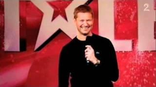 Norske Talenter 2009 - Klaus baklengs