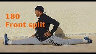 فتح الحوض الامامي (180 درجة) لجميع الاعمار وكافة المستويات How to do front split