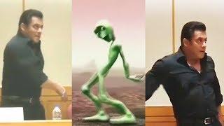 Salman Khan ने किया Dame Tu Cosita Challenge Accept - देखिये भाई का Funny Dance