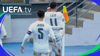 Watch Real Madrid's Borja Mayoral clinical finish