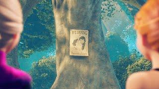 The Wedding Invitation (A Frozen/Tangled AU Short)