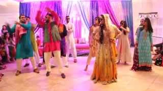 Sonia and Hamza's Mehndi--Guy/Girl Dance
