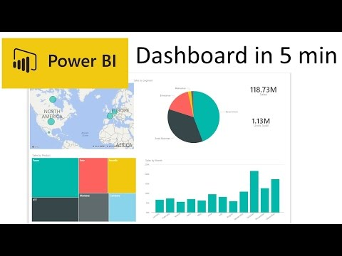 Creating a Power BI report in under 5 mins