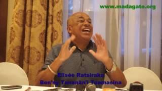 Elisée Ratsiraka manazava ny hoe
