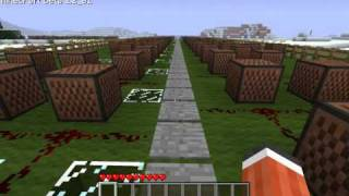 Saria's Song - Minecraft