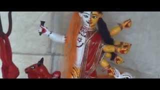 বিষ্ণুপুর ও লক্ষীপুর গ্রাম দু'টির সম্মিলিত চড়ক পুজার অর্ধনারীশ্বর বিগ্রহ  (Chorhok, Bishnupur)