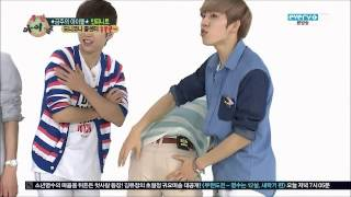 [ENG] 130501 Dongwoo Analyzes Infinite's Butts