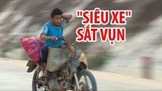"""Những """"siêu xe"""" như cục sắt vụn ở vùng cao   Strange motorbikes in Viet Nam"""
