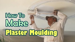 How to Make Plaster Moulding for your Dining Room