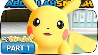 Pokemon Let's Go Pikachu & Eevee - Part 1: I CHOOSE YOU! (100% Walkthrough)