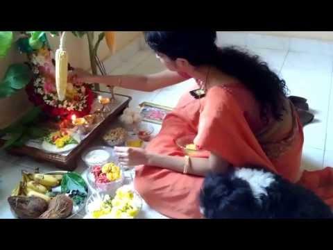 Vinayaka Chavithi Puja At Home