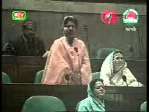 BNP -MP Dalivery  Her Speech in the Bangladesh Parliament .....Create by JCD Nayapara