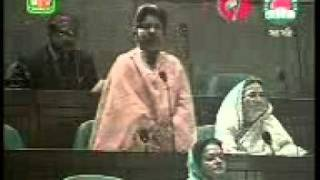 BNP -MP Dalivery  Her Speech in the Bangladesh Parliament .....Create by JCD Nayapara