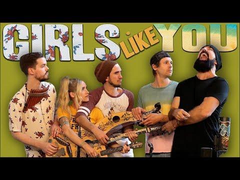 Xxx Mp4 Girls Like You Walk Off The Earth Maroon 5 Cover 3gp Sex