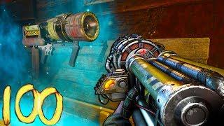 🏆'KINO DER TOTEN' ROUND 100 SPEEDRUN CHALLENGE🏆 Super FAST! (Call of Duty Black Ops 3 Zombies)