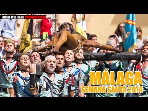 Semana Santa 2014. Legion Española en Málaga