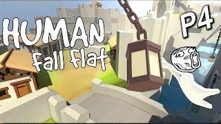 Human: Fall Flat《人類:一敗塗地》Part 4 : 如何安全搭纜車?