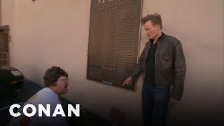 Conan Clashes With The Warner Bros. Rhubarb Lady