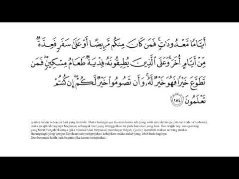 H. Muammar ZA - Al Baqarah 183 - 186