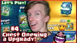 Český Let's Play Clash Royale! #04 │ CHEST OPENING A VELKÉ UPGRADY!