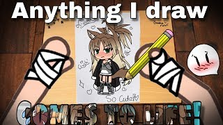 Anything I draw comes to life!| GLMM