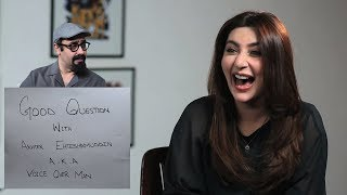 Good Question with VO Man feat.  Ayesha Khan | Episode 1