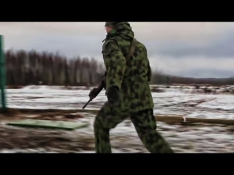 U.S. Army & Lithuanian Soldiers Run