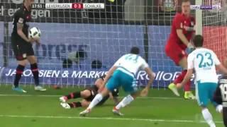 ملخص أهداف مباراة باير ليفركوزن وشالكه  بتاريخ 28 04 2017 الدوري الالماني