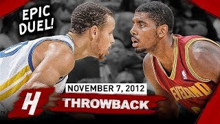 The Game Stephen Curry Met Kyrie Irving for the FIRST TIME EVER 2012.11.07 - EPIC PG Duel!