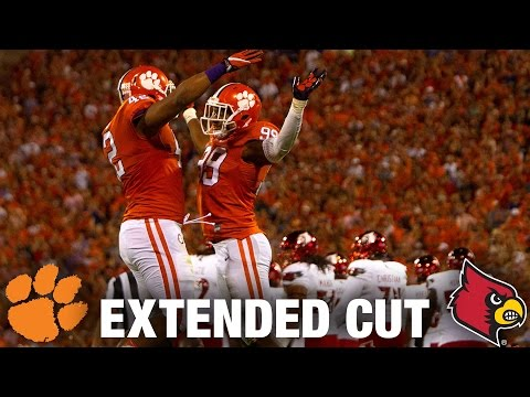 Louisville vs. Clemson Extended Football Highlights 2016