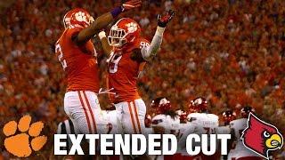 Louisville vs. Clemson Extended Football Highlights (2016)
