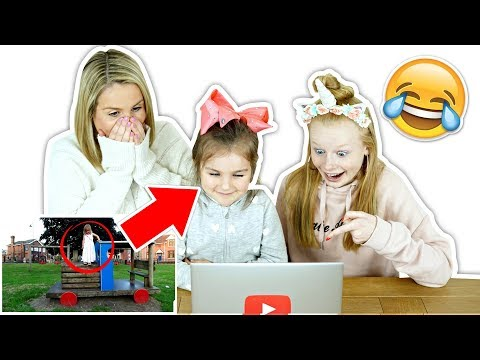 REACTiNG TO SiENNA'S FiRST EVER VIDEO **2 years old**