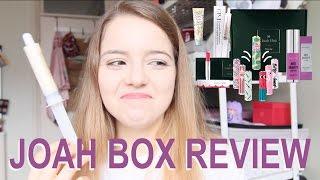 ❀ K-Beauty Review ❀ April Joah Box!