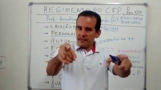 AULA 3 - LEGISLAÇÃO DO  CRP 15º Região/AL- FINALIDADE DO CFP -  PROF. RONILSON MENDES