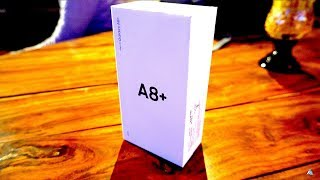 [HINDI] Samsung Galaxy A8 Plus unboxing & hands on review
