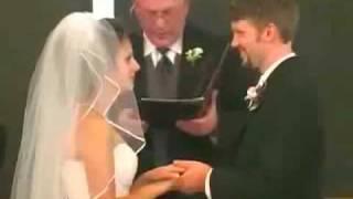 Funny Wedding Vows Clip