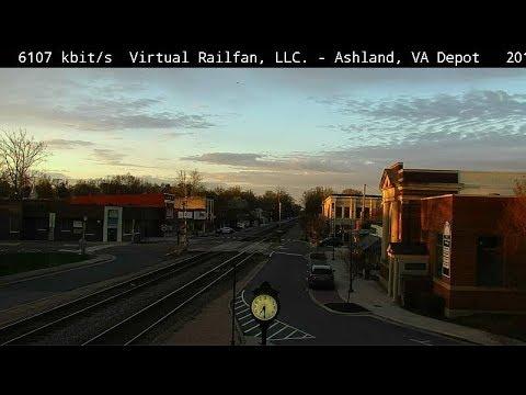 Ashland Virginia USA Virtual Railfan LIVE