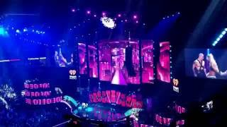 Britney Spears performing Come Over *Not the Full song* at iHeart Radio Music Festival 2016