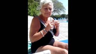 84 year old Nanny dancing