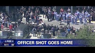 The Story of Officer Matt Pearce - Fort Worth Police Officer Shot
